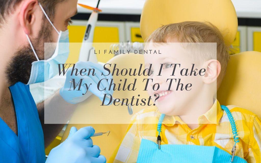 child's first dentist visit
