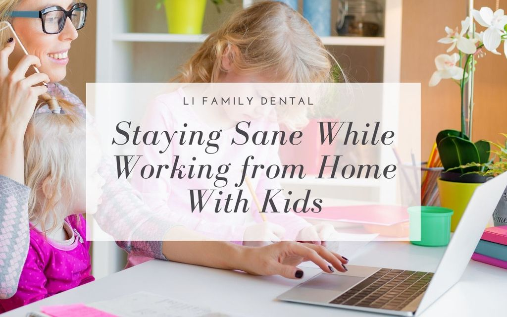 Staying Sane While Working from Home With Kids featured image
