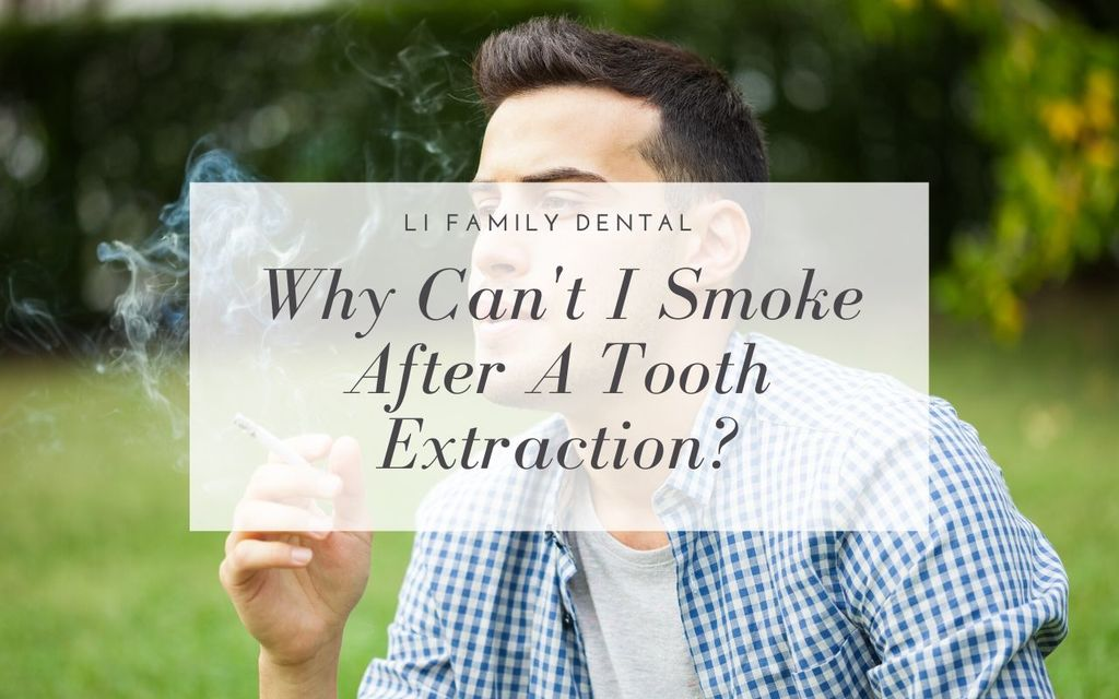 Why you shouldn't smoke after a tooth extraction