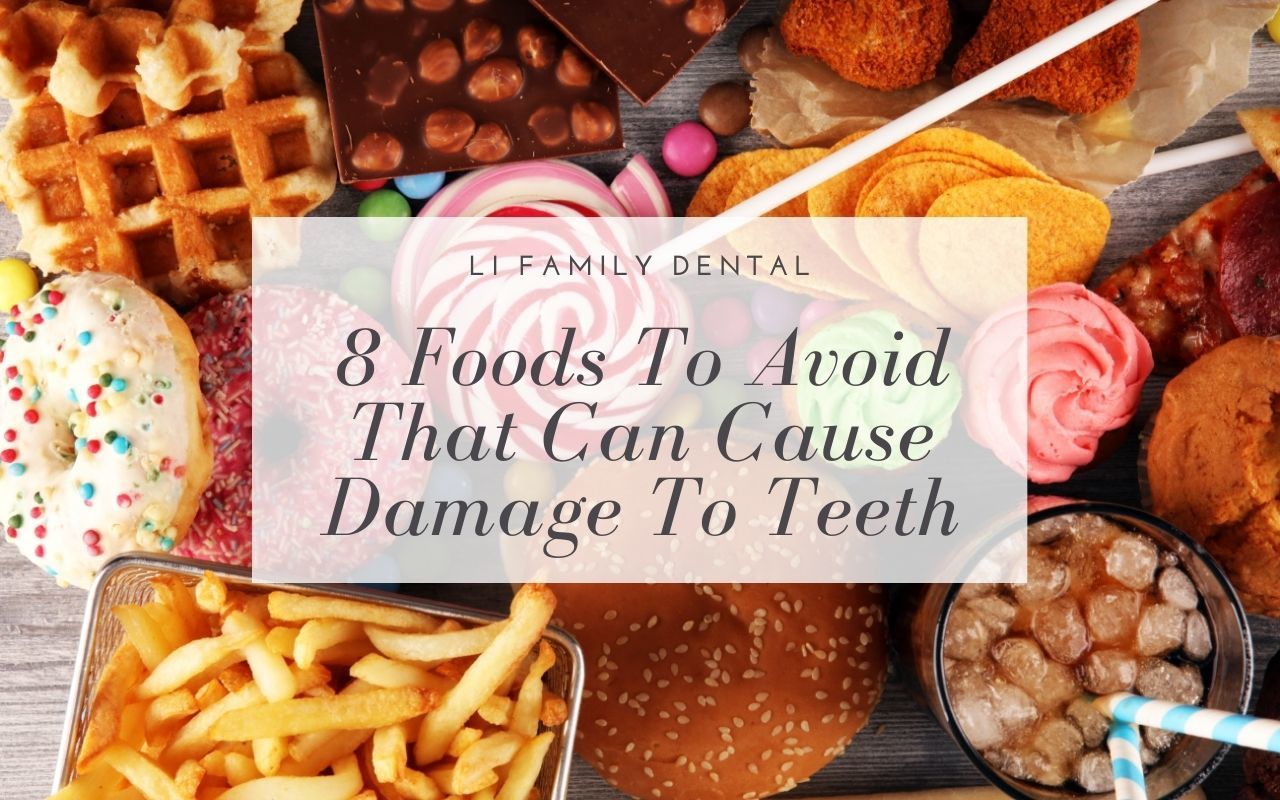 8 Foods To Avoid That Can Cause Damage To Teeth